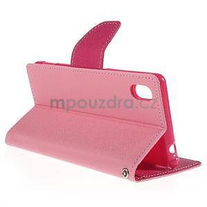 Ochranné puzdro pre Sony Xperia M4 Aqua - ružové/rose - 4