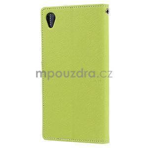 Peňaženkové puzdro pre mobil Sony Xperia Z3 - zelené - 4