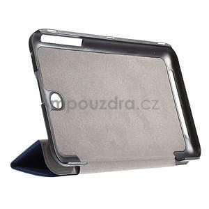 Supreme polohovateľné puzdro na tablet Asus Memo Pad 7 ME176C - tmavomodré - 4