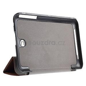 Supreme polohovateľné puzdro pre tablet Asus Memo Pad 7 ME176C - hnedé - 4