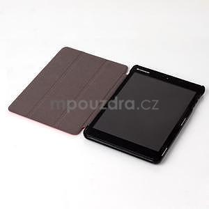 """Troch polohové puzdro na tablet Lenovo IdeaTab Miix 3 8 """"- červené - 4"""