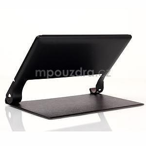 Koženkové puzdro pre Lenovo Yoga Tablet 2 8.0 - čierne - 4