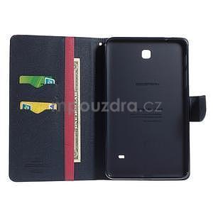 Rose peňaženkové puzdro Goospery na tablet Samsung Galaxy Tab 8.0 4 - 4