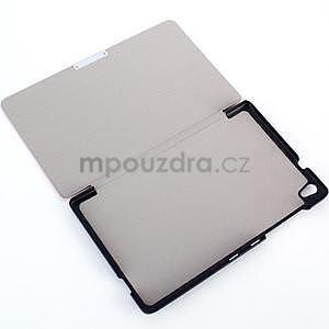 Čierne puzdro na tablet Lenovo S8-50 s funkciou stojančeku - 4
