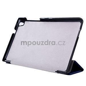 Fialové puzdro na tablet Lenovo S8-50 s funkciou stojančeku - 4