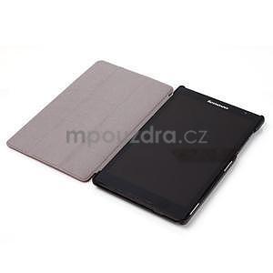 Svetlomodré puzdro na tablet Lenovo S8-50 s funkciou stojančeku - 4
