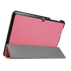 Trojpolohové puzdro pre tablet Acer Iconia One 10 B3-A20 - ružové - 4