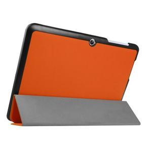 Trojpolohové puzdro pre tablet Acer Iconia One 10 B3-A20 - oranžové - 4