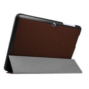 Trojpolohové puzdro pre tablet Acer Iconia One 10 B3-A20 - hnedé - 4