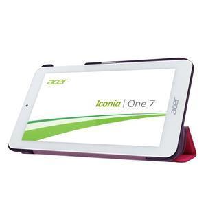 Trifold polohovatelné puzdro pre tablet Acer Iconia One 7 B1-770 - rose - 4