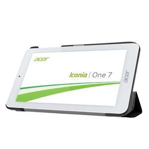 Trifold polohovatelné pouzdro na tablet Acer Iconia One 7 B1-770 - černé - 4
