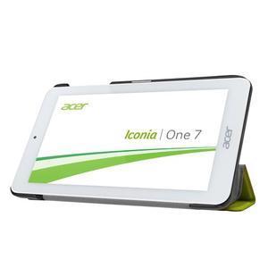 Trifold polohovatelné puzdro pre tablet Acer Iconia One 7 B1-770 - zelené - 4