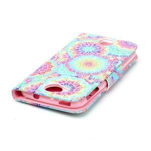 Motive pouzdro na mobil Acer Liquid Jade Z - barevné květy - 4