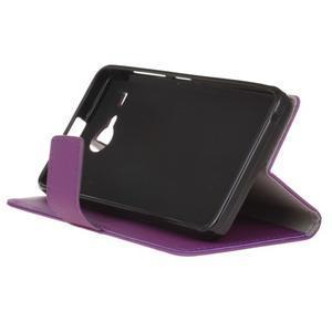 Gregory peňaženkové puzdro pre Acer Liquid Z520 - fialové - 4