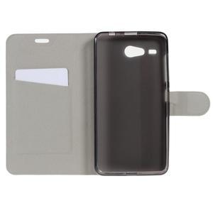 Horse peňaženkové puzdro pre Acer Liquid Z520 - hnedé - 4