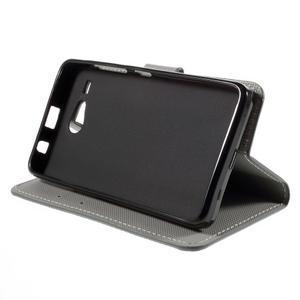 Nice koženkové puzdro pre mobil Acer Liquid Z520 - kotva - 4