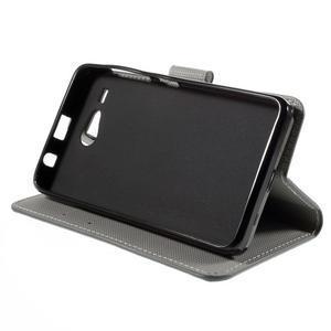 Nice koženkové pouzdro na mobil Acer Liquid Z520 - soví rodinky - 4