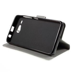 Nice koženkové puzdro pre mobil Acer Liquid Z520 - sloni - 4
