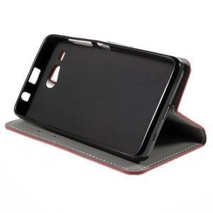 Nice koženkové puzdro pre mobil Acer Liquid Z520 - US vlajka - 4