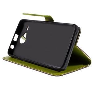 Lístkové puzdro pre Acer Liquid Z520 - hnedé - 4