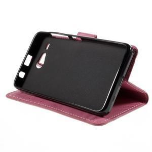 Nice koženkové puzdro pre mobil Acer Liquid Z520 - kvitnúca vetva - 4