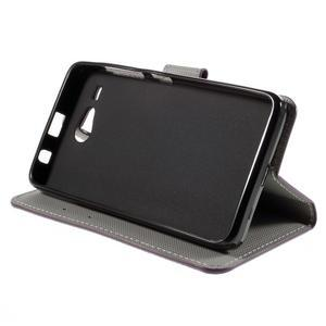 Nice koženkové puzdro pre mobil Acer Liquid Z520 - kouzelní motýľci - 4