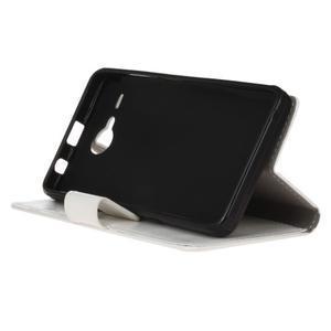 Stanley PU kožené puzdro pre Acer Liquid Z520 - biele - 4