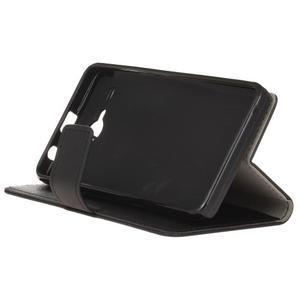 Gregory peňaženkové puzdro pre Acer Liquid Z520 - čierné - 4