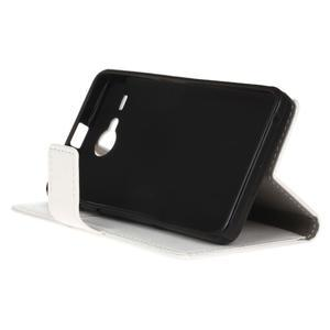 Gregory peněženkové pouzdro na Acer Liquid Z520 - bílé - 4