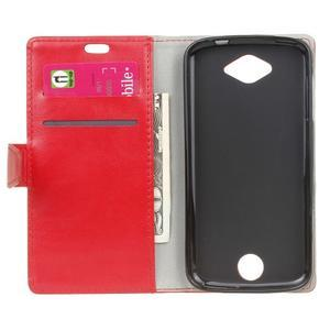 Puzdro na mobil Acer Liquid Z530 - červené - 4