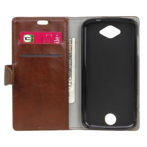 Puzdro na mobil Acer Liquid Z530 - hnědé - 4