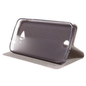 Klopové puzdro pre mobil Acer Liquid Z530 - rose - 4