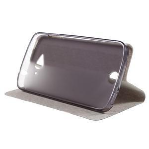Klopové pouzdro na mobil Acer Liquid Z530 - tmavěmodré - 4