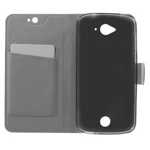 Horse peňaženkové puzdro pre mobil Acer Liquid Z530 - modré - 4