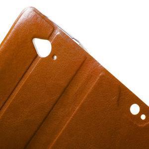 Horse peněženkové pouzdro na mobil Acer Liquid Z530 - hnědé - 4