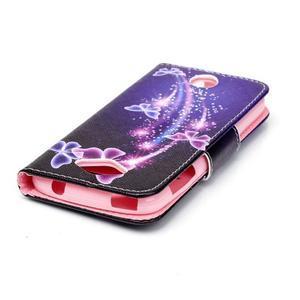 Luxy peňaženkové puzdro pre Acer Liquid Z530 - kouzelní motýľci - 4