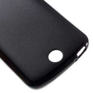 Matný gelový obal na Acer Liquid Z530 - černý - 4