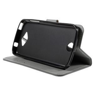 Valet peňaženkové puzdro pre Acer Liquid Z530 - kotva - 4