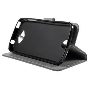 Valet peňaženkové puzdro pre Acer Liquid Z530 - soví rodinka - 4