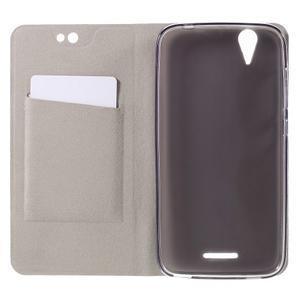 Klopové puzdro pre mobil Acer Liquid Z630 - šedé - 4