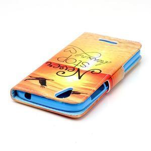 Peňaženkové puzdro pre mobil Acer Liquid Z630 - neprestávaj sniet - 4