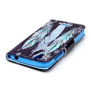Peňaženkové puzdro pre mobil Acer Liquid Z630 - pierka - 4