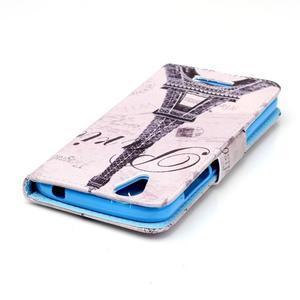 Peňaženkové puzdro pre mobil Acer Liquid Z630 - Eiffelova veža - 4