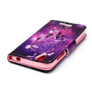 Peňaženkové puzdro pre mobil Acer Liquid Z630 - lapač snov - 4