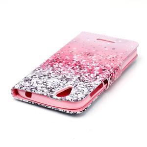 Peněženkové pouzdro na mobil Acer Liquid Z630 - gliter - 4