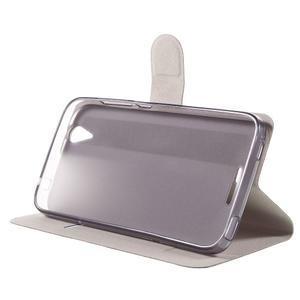 Horse peňaženkové puzdro pre Acer Liquid Z630 - čierné - 4