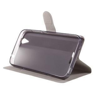 Horse peněženkové pouzdro na Acer Liquid Z630 - bílé - 4