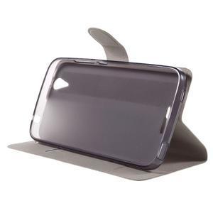 Horse peňaženkové puzdro pre Acer Liquid Z630 - hnedé - 4