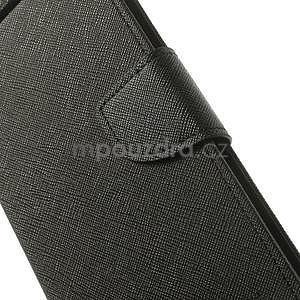 Čierné kožené puzdro Asus Zenfone 5 - 4