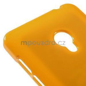 Gélový obal na Asus Zenfone 5 - oranžový - 4